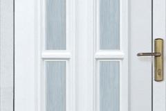üveges egyszárnyú ajtó