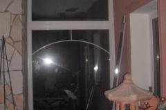 télikert üvegfal