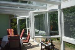 Télikert kétszárnyú ablakkal