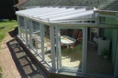 télikert tető 60x60-as alumínium merevítővel